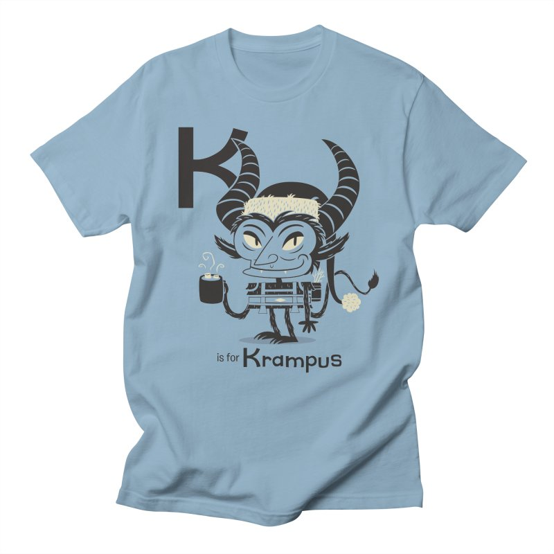K is for Krampus Women's Unisex T-Shirt by Hazy Dell Press