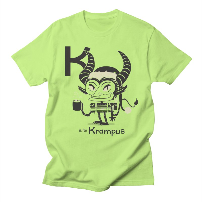 K is for Krampus Women's Regular Unisex T-Shirt by Hazy Dell Press
