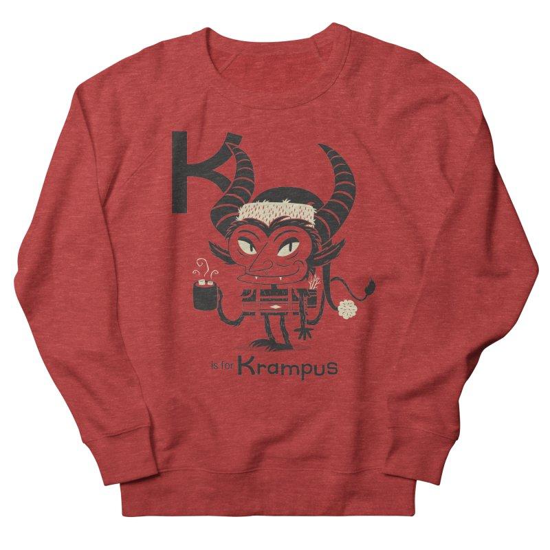 K is for Krampus Women's Sweatshirt by Hazy Dell Press