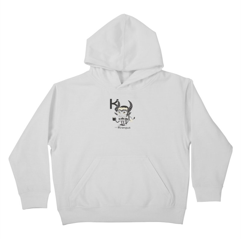 K is for Krampus Kids Pullover Hoody by Hazy Dell Press