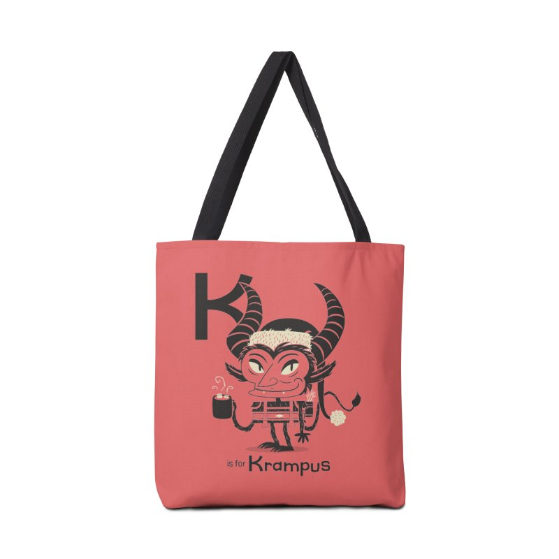 K is for Krampus Accessories Bag by Hazy Dell Press