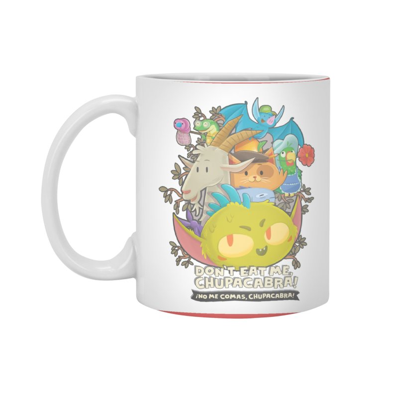 Don't Eat Me, Chupacabra! Accessories Standard Mug by Hazy Dell Press