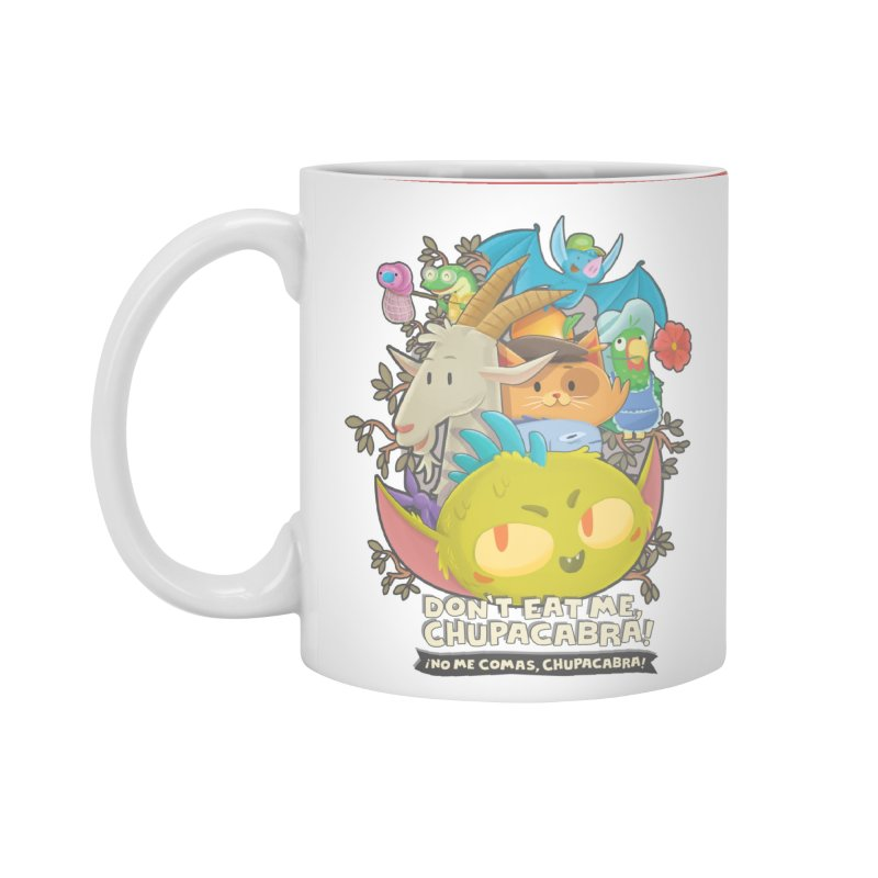 Don't Eat Me, Chupacabra! Accessories Mug by Hazy Dell Press