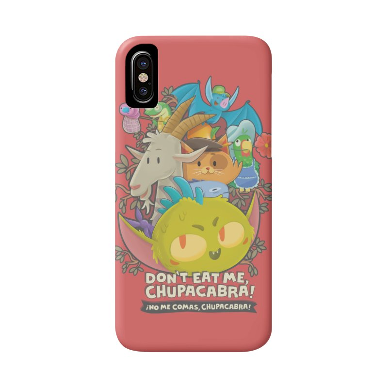 Don't Eat Me, Chupacabra! Accessories Phone Case by Hazy Dell Press