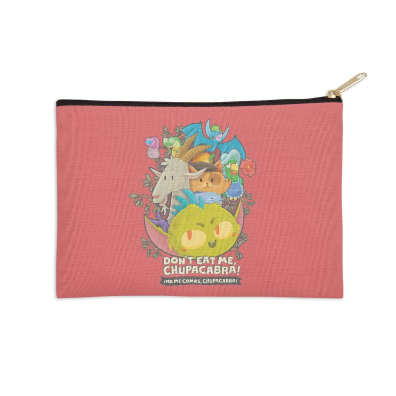 Don't Eat Me, Chupacabra! Accessories Zip Pouch by Hazy Dell Press
