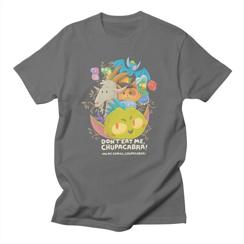 Don't Eat Me, Chupacabra! Men's T-Shirt by Hazy Dell Press