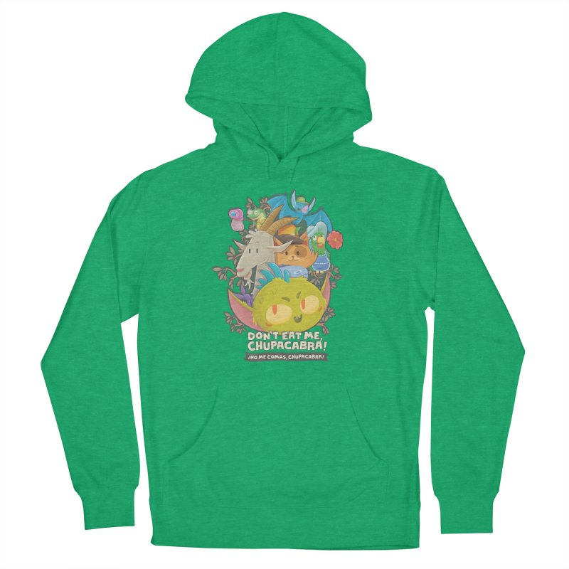 Don't Eat Me, Chupacabra! Men's French Terry Pullover Hoody by Hazy Dell Press
