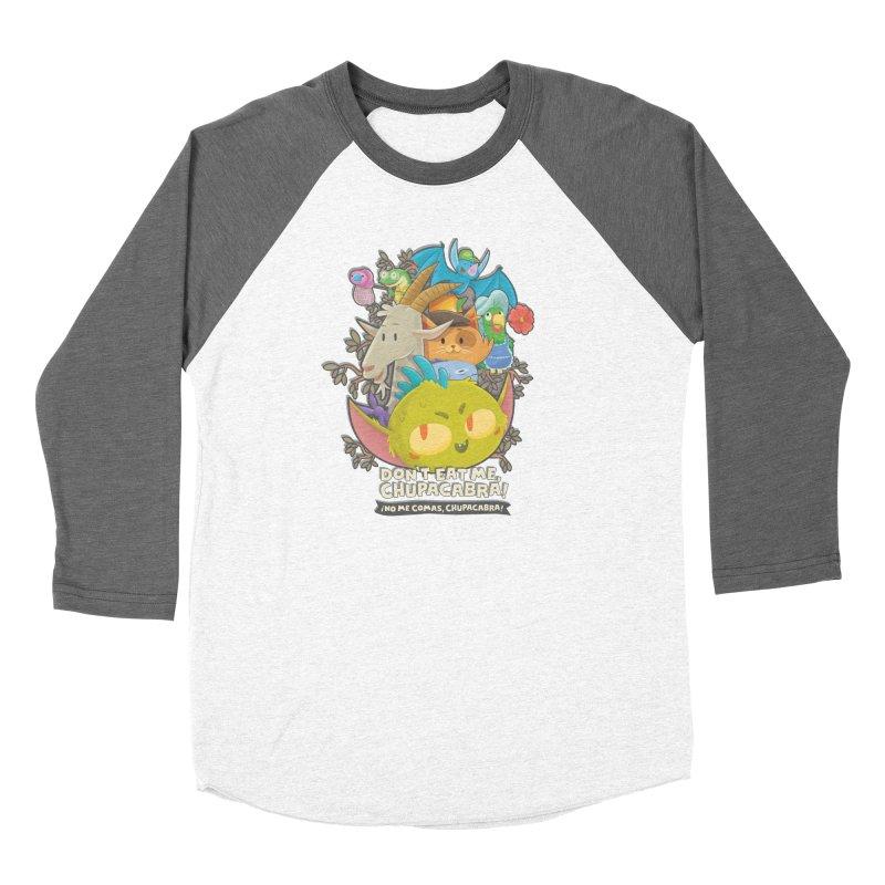 Don't Eat Me, Chupacabra! Women's Longsleeve T-Shirt by Hazy Dell Press