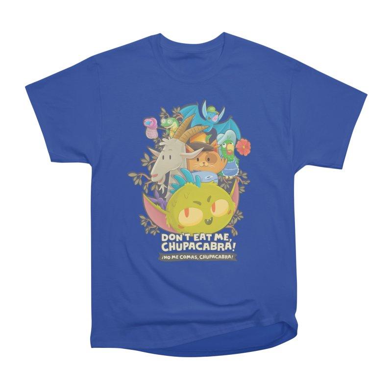 Don't Eat Me, Chupacabra! Men's Heavyweight T-Shirt by Hazy Dell Press