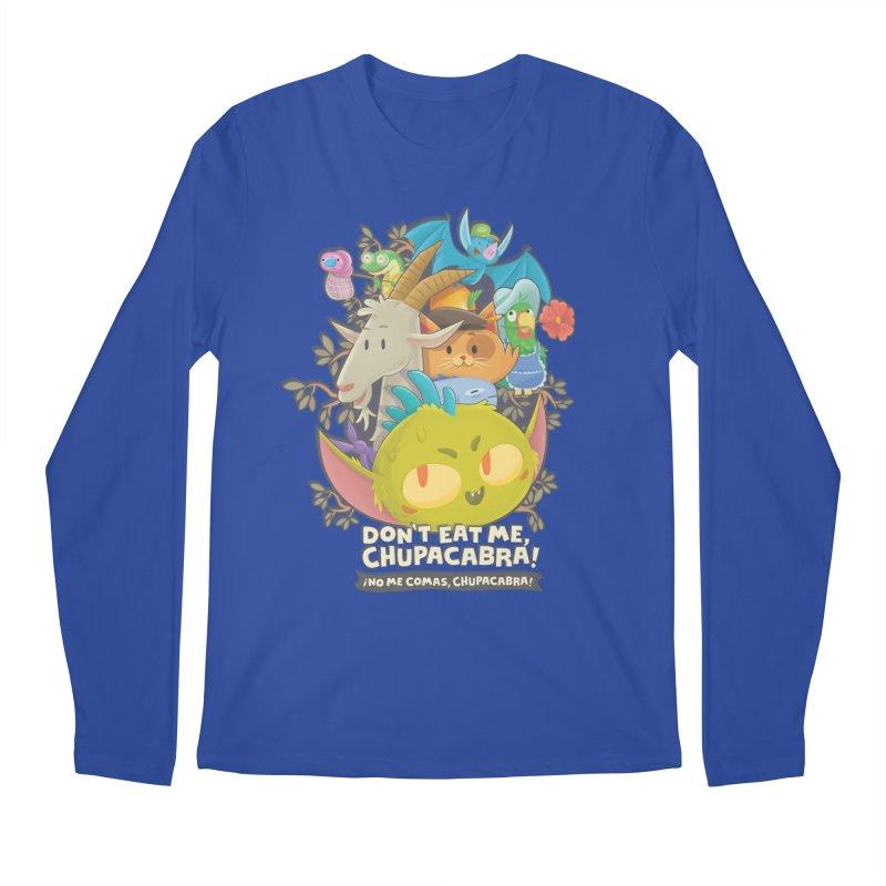 Don't Eat Me, Chupacabra! Men's Regular Longsleeve T-Shirt by Hazy Dell Press