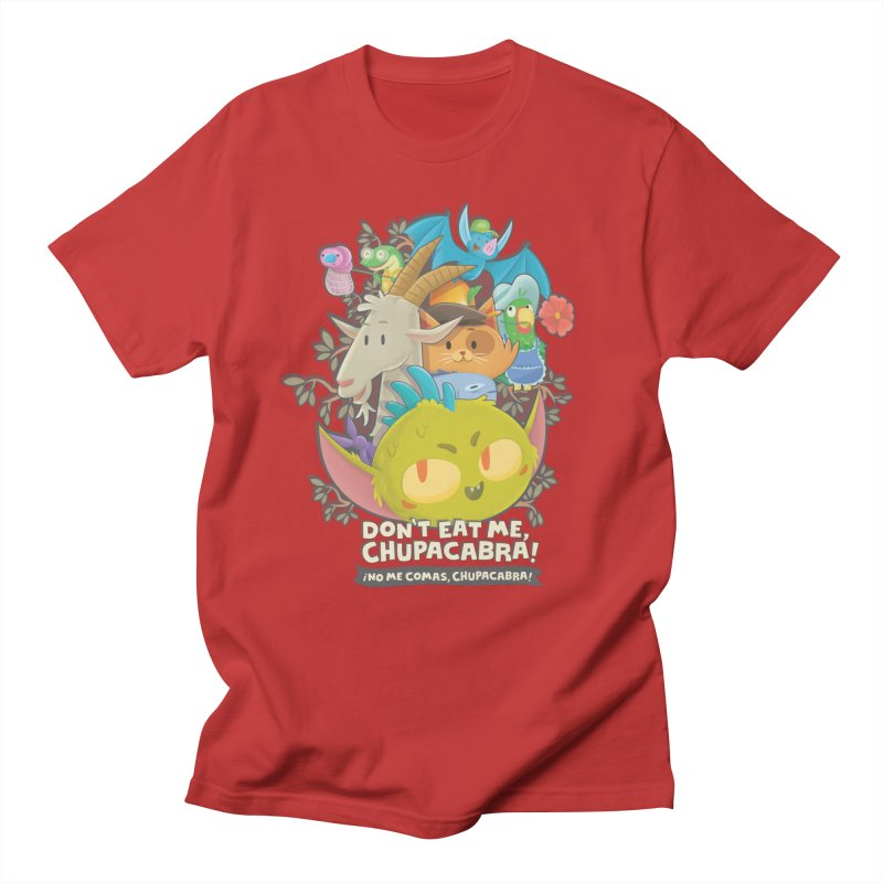 Don't Eat Me, Chupacabra! Men's Regular T-Shirt by Hazy Dell Press