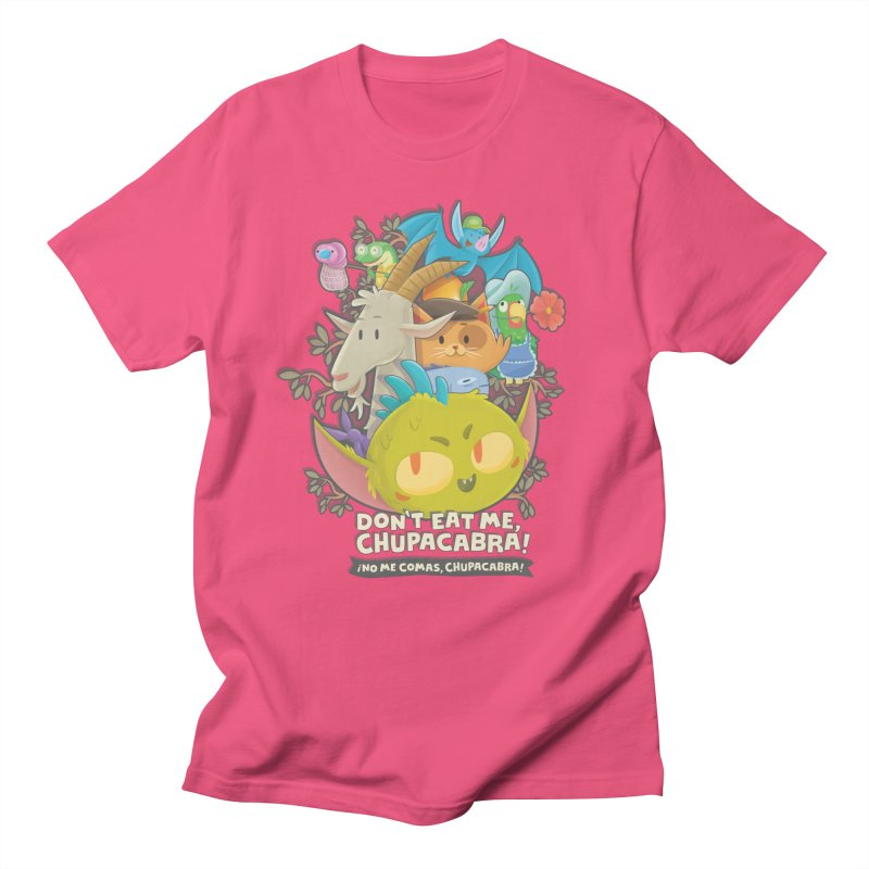 Don't Eat Me, Chupacabra! Men's Regular T-Shirt by Hazy Dell Press