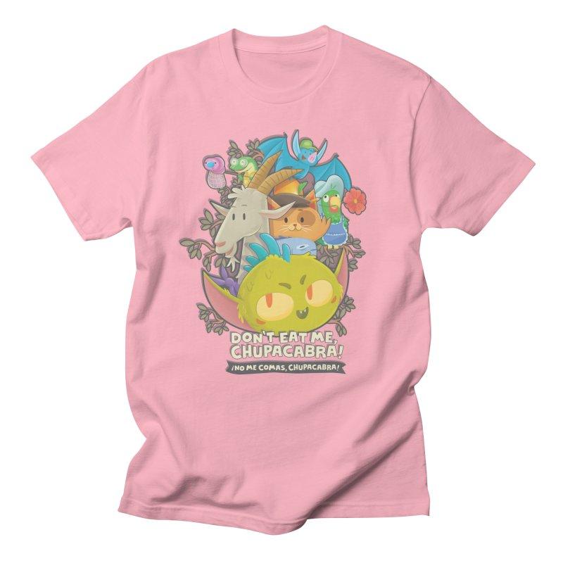 Don't Eat Me, Chupacabra! Women's Regular Unisex T-Shirt by Hazy Dell Press