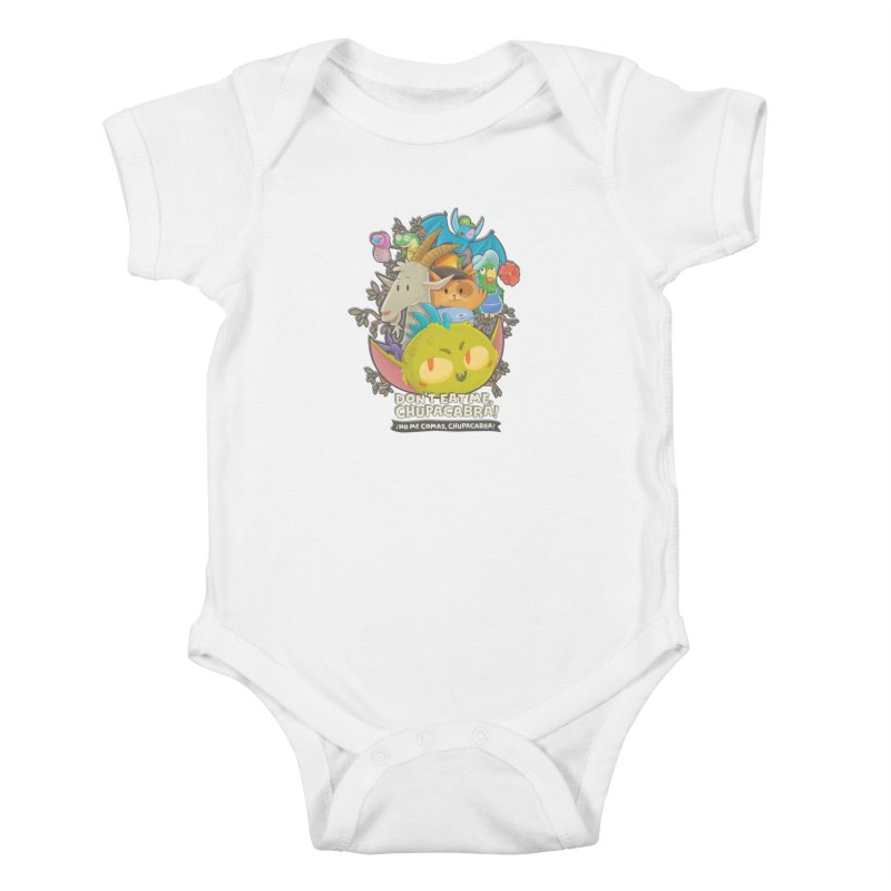 Don't Eat Me, Chupacabra! Kids Baby Bodysuit by Hazy Dell Press
