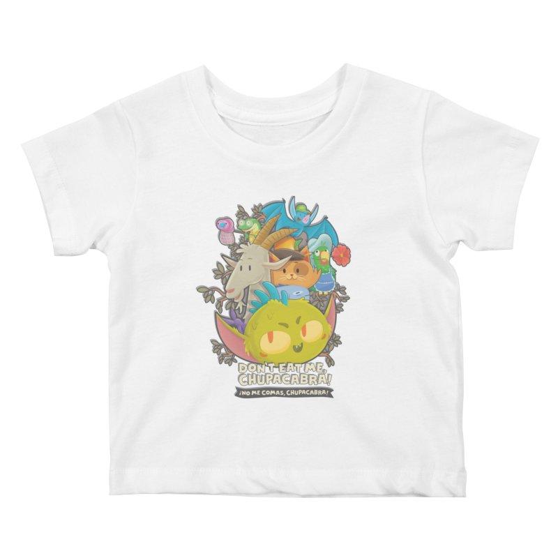 Don't Eat Me, Chupacabra! Kids Baby T-Shirt by Hazy Dell Press