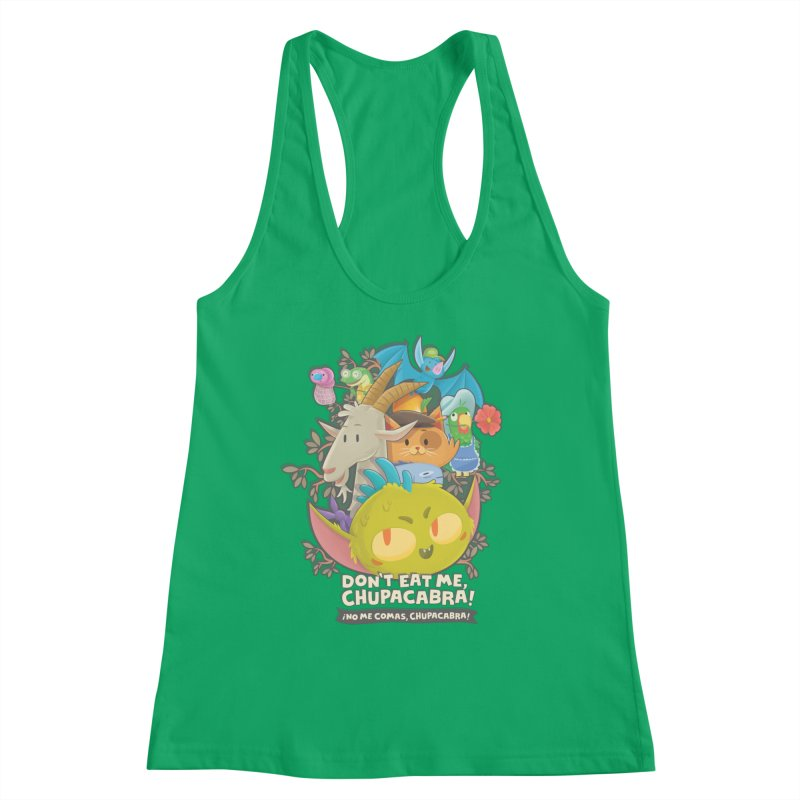 Don't Eat Me, Chupacabra! Women's Tank by Hazy Dell Press