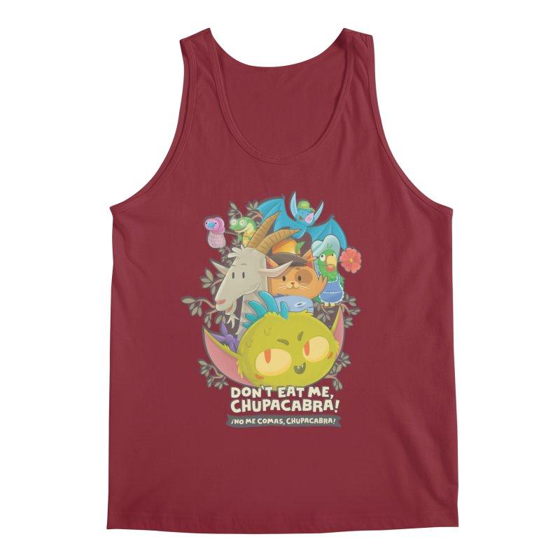 Don't Eat Me, Chupacabra! Men's Regular Tank by Hazy Dell Press