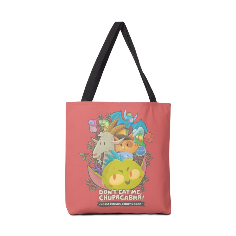 Don't Eat Me, Chupacabra! Accessories Bag by Hazy Dell Press