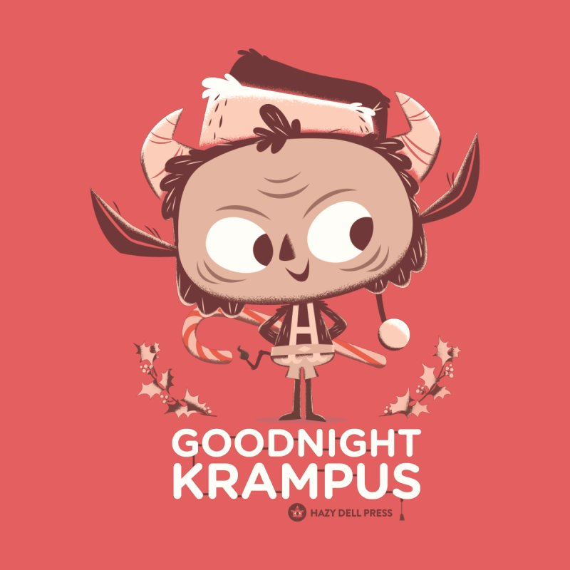 Goodnight Krampus Home Stretched Canvas by Hazy Dell Press