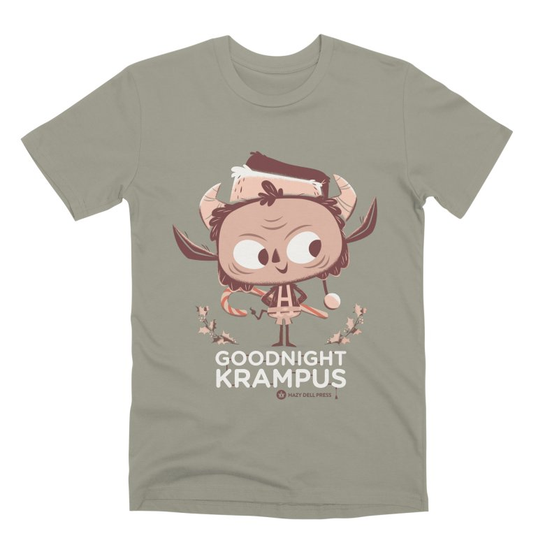 Goodnight Krampus Men's Premium T-Shirt by Hazy Dell Press