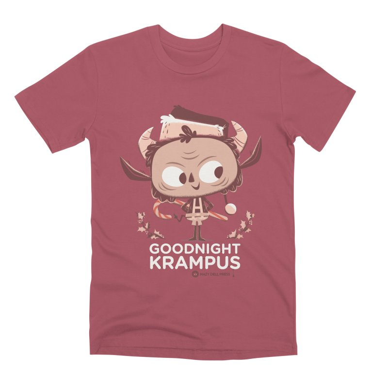 Goodnight Krampus Men's Premium T-Shirt by Hazy Dell Press
