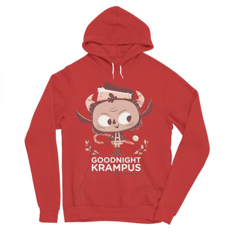 Goodnight Krampus Men's Sponge Fleece Pullover Hoody by Hazy Dell Press
