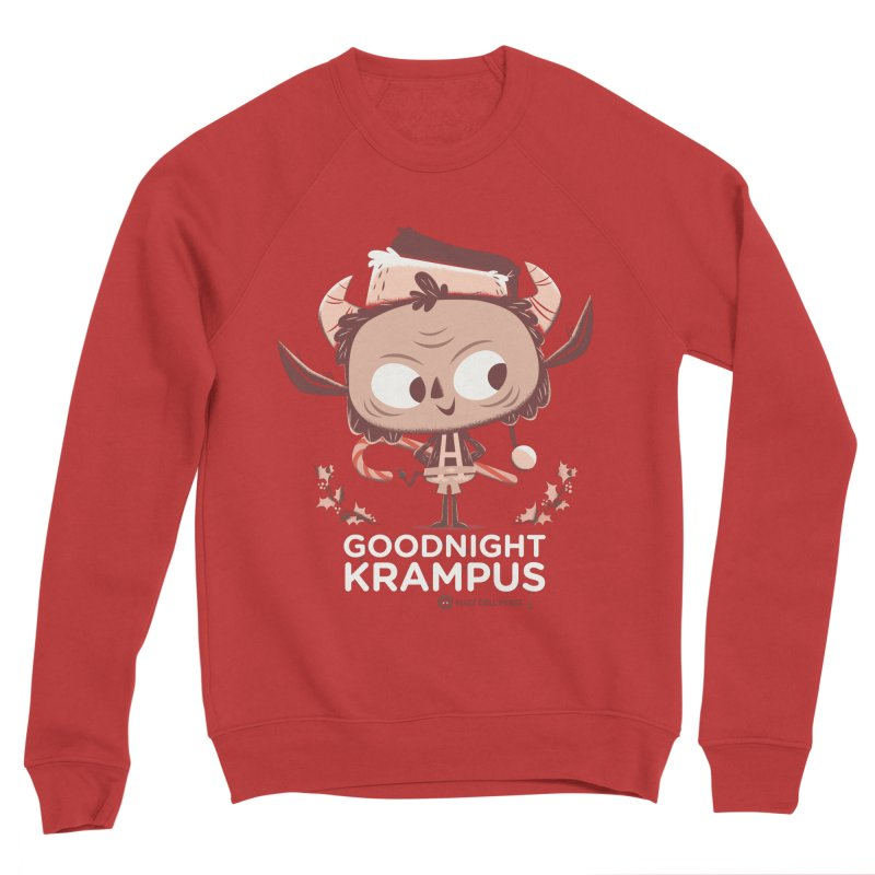 Goodnight Krampus Men's Sponge Fleece Sweatshirt by Hazy Dell Press