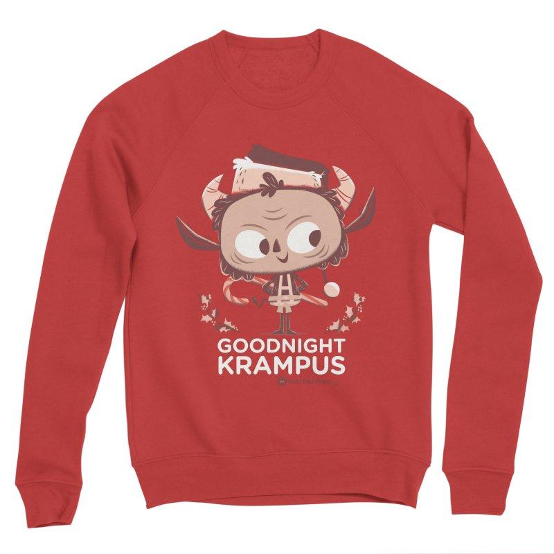 Goodnight Krampus Women's Sponge Fleece Sweatshirt by Hazy Dell Press