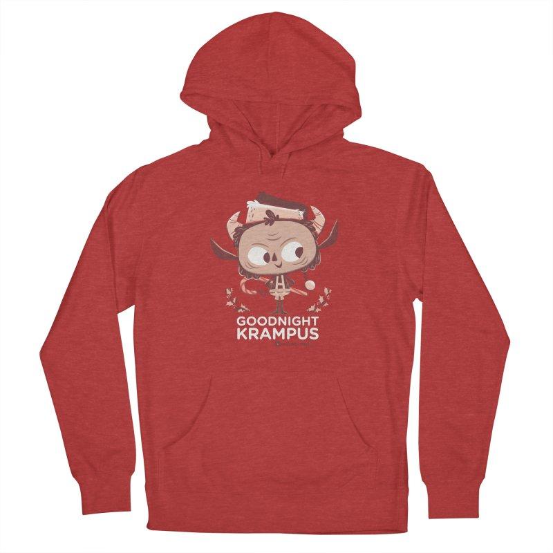Goodnight Krampus Men's Pullover Hoody by Hazy Dell Press