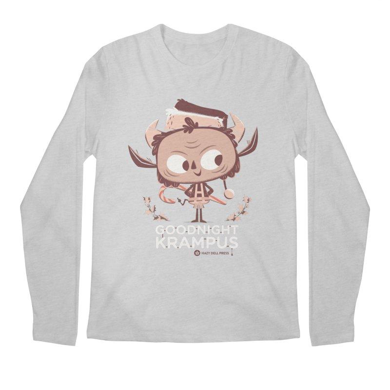 Goodnight Krampus Men's Regular Longsleeve T-Shirt by Hazy Dell Press