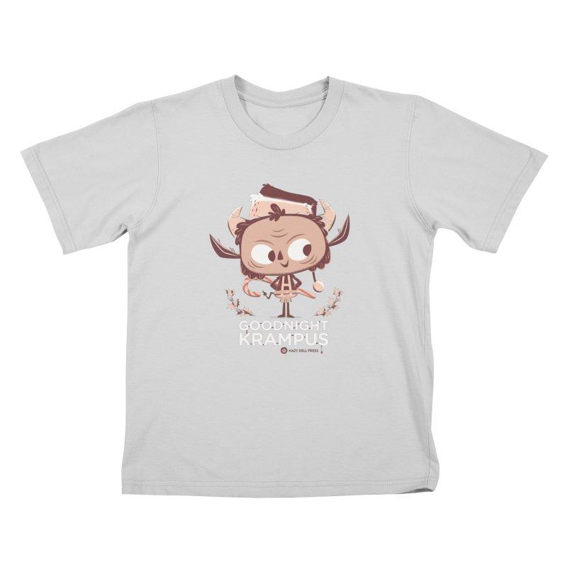 Goodnight Krampus Kids T-Shirt by Hazy Dell Press