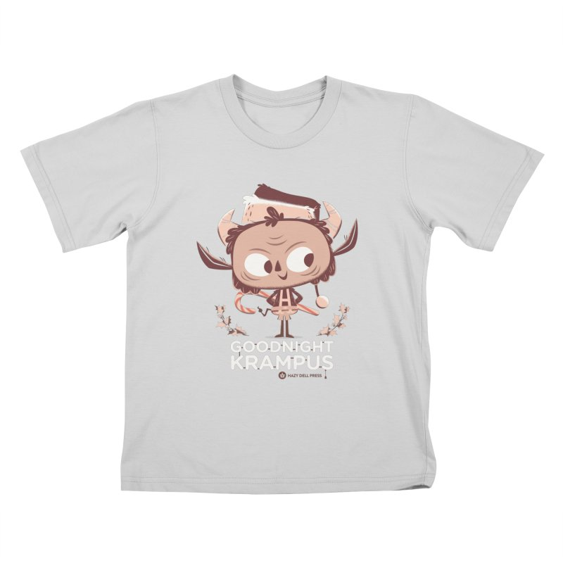 Goodnight Krampus Kids T-Shirt by Hazy Dell Press