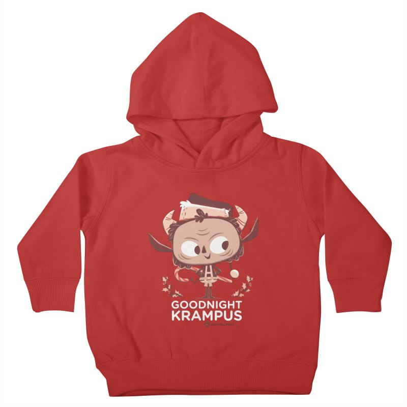 Goodnight Krampus Kids Toddler Pullover Hoody by Hazy Dell Press