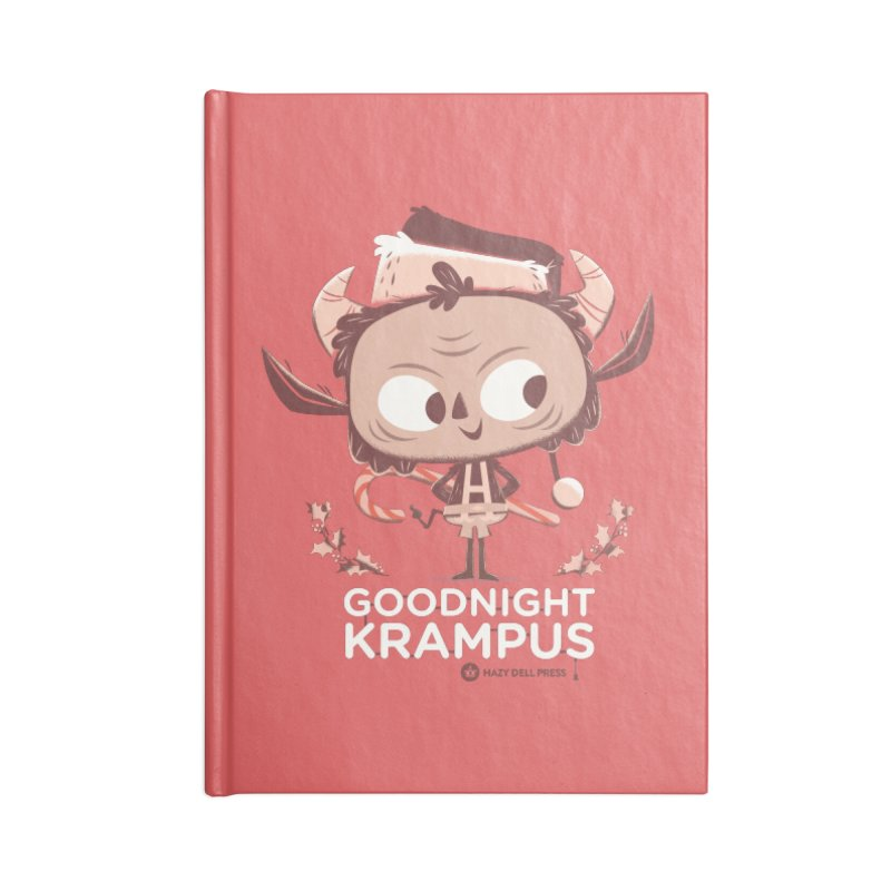 Goodnight Krampus Accessories Lined Journal Notebook by Hazy Dell Press