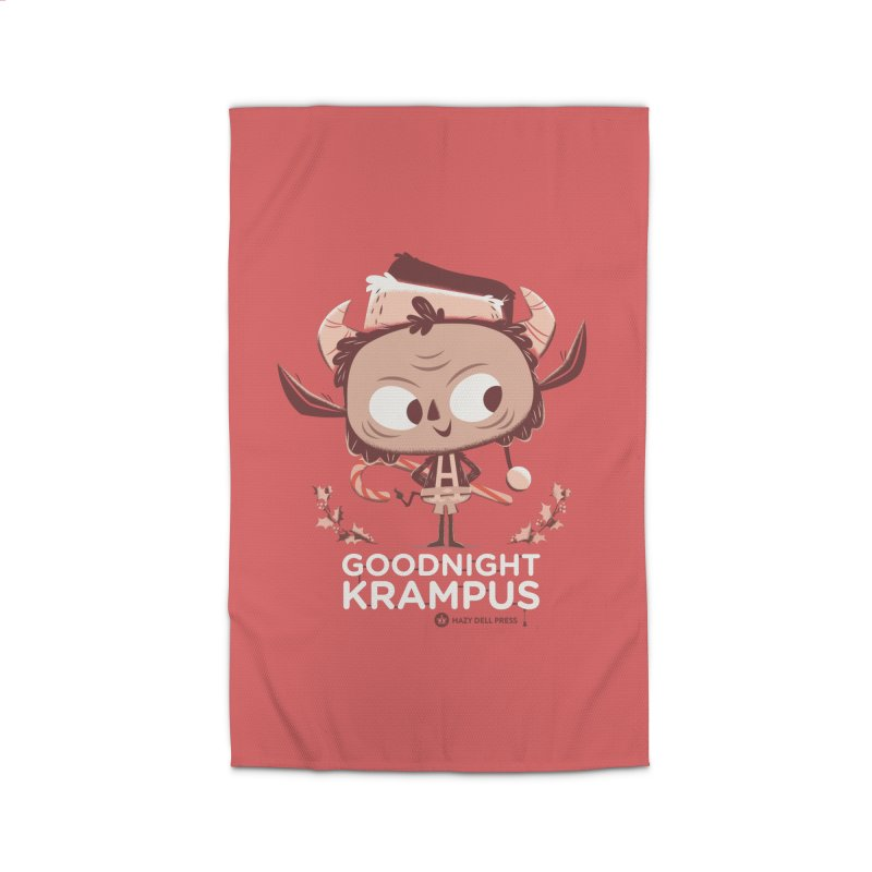 Goodnight Krampus Home Rug by Hazy Dell Press