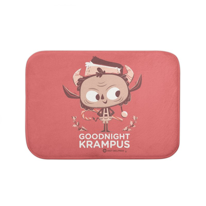 Goodnight Krampus Home Bath Mat by Hazy Dell Press