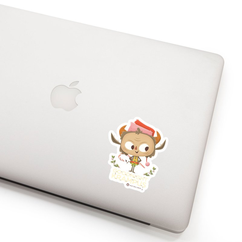 Goodnight Krampus Accessories Sticker by Hazy Dell Press