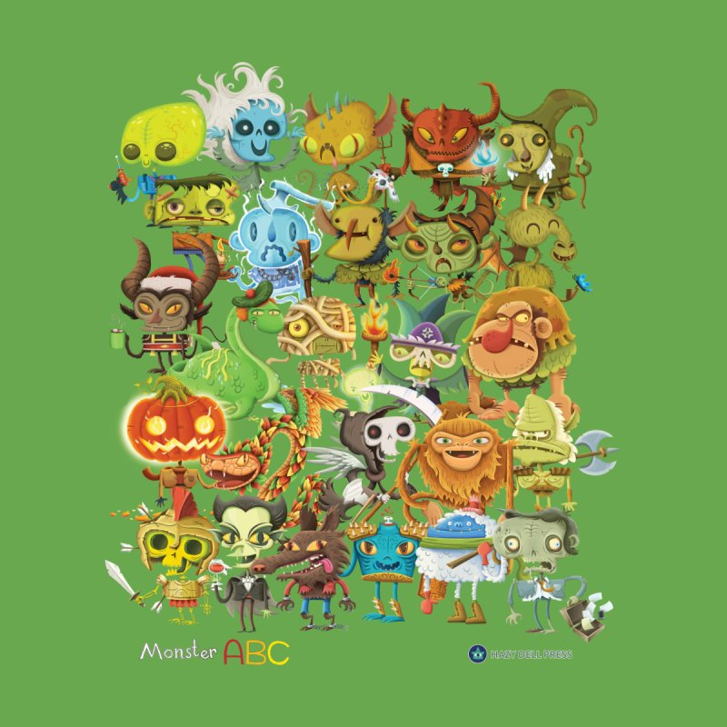 Monster ABC Kids Toddler Longsleeve T-Shirt by Hazy Dell Press