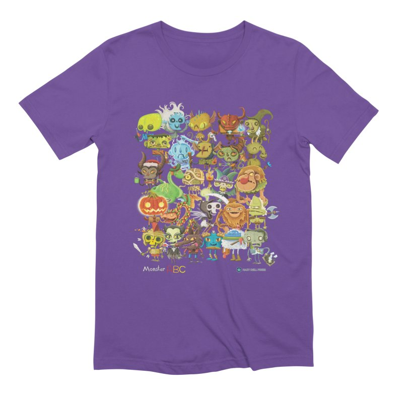 Monster ABC Men's T-Shirt by Hazy Dell Press
