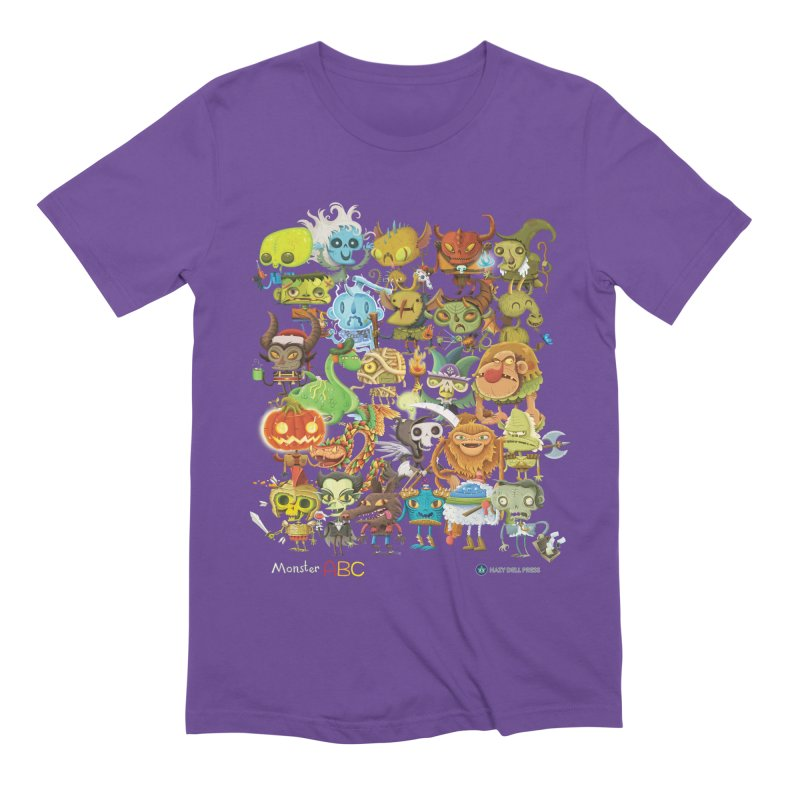 Monster ABC Men's Extra Soft T-Shirt by Hazy Dell Press