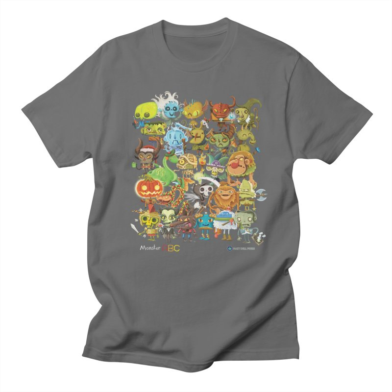 Monster ABC Women's Regular Unisex T-Shirt by Hazy Dell Press