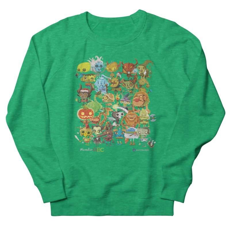 Monster ABC Women's Sweatshirt by Hazy Dell Press