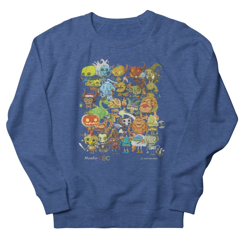 Monster ABC Men's Sweatshirt by Hazy Dell Press