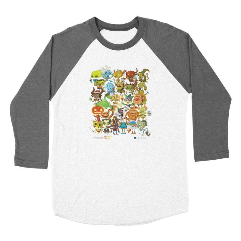 Monster ABC Women's Longsleeve T-Shirt by Hazy Dell Press