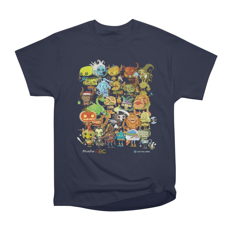Monster ABC Men's Heavyweight T-Shirt by Hazy Dell Press