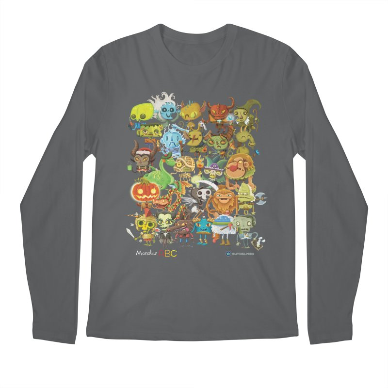 Monster ABC Men's Longsleeve T-Shirt by Hazy Dell Press