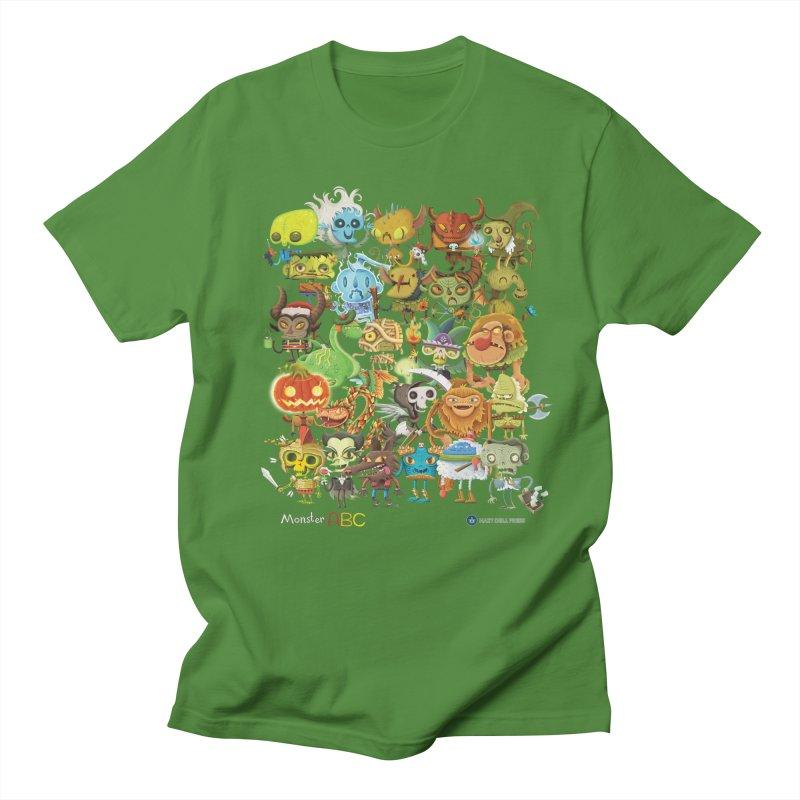 Monster ABC Men's Regular T-Shirt by Hazy Dell Press
