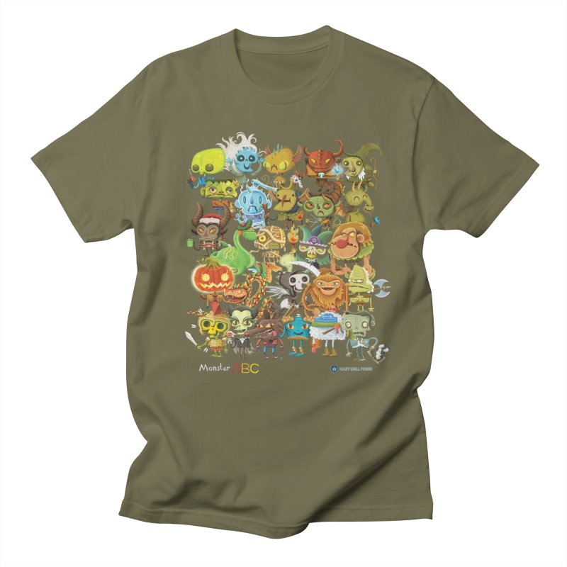 Monster ABC Women's Regular Unisex T-Shirt by Hazy Dell Press