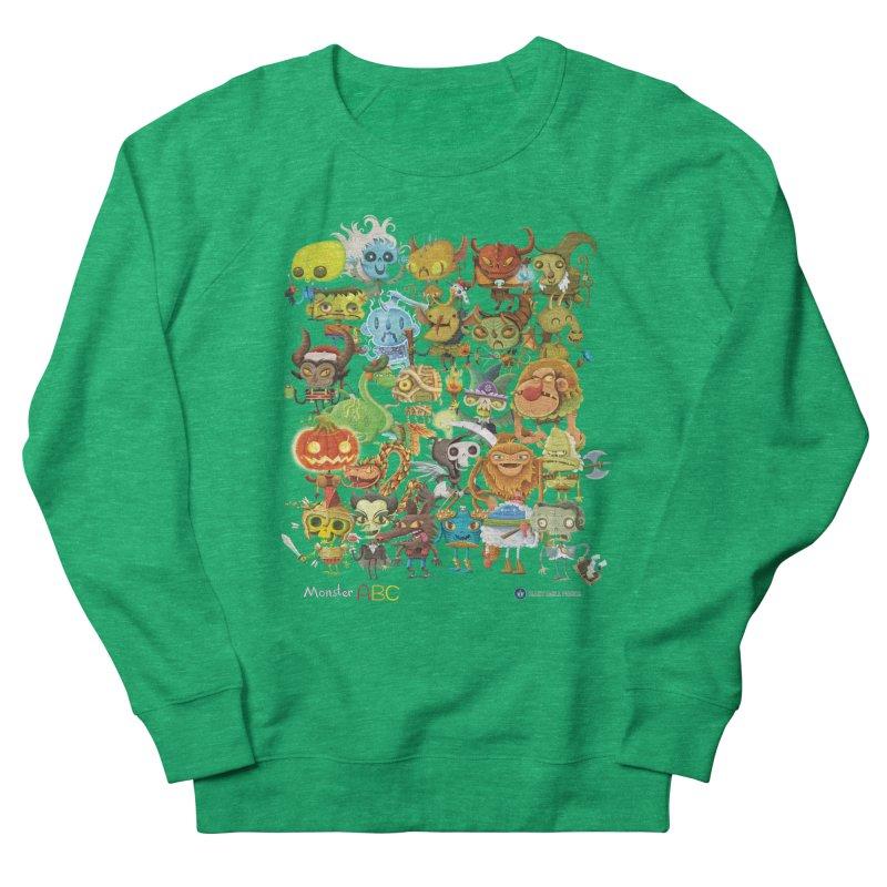 Monster ABC Women's Sweatshirt by Hazy Dell Press