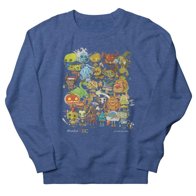 Monster ABC Men's Sweatshirt by Hazy Dell Press